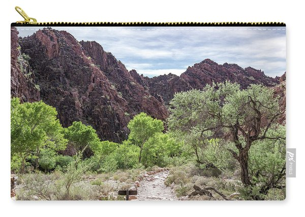 Trail Into Phantom Ranch, Grand Canyon Carry-all Pouch