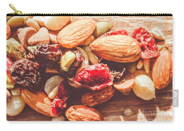 Trail Mix High-energy Snack Food Background Carry-all Pouch