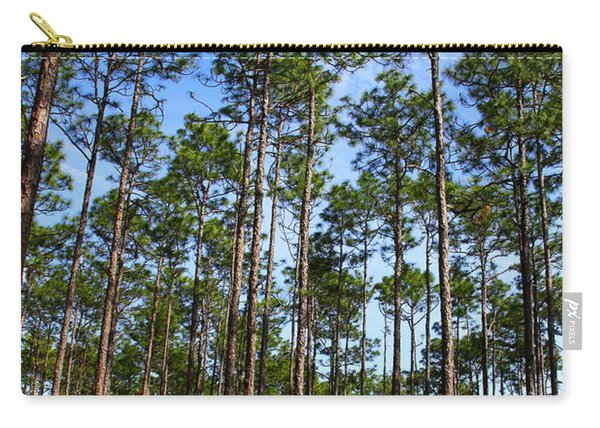 Trail Through The Pine Forest Carry-all Pouch