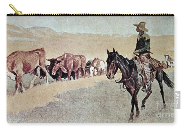 Trailing Texas Longhorns Carry-all Pouch