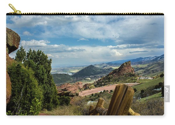 Trails At Red Rocks Carry-all Pouch