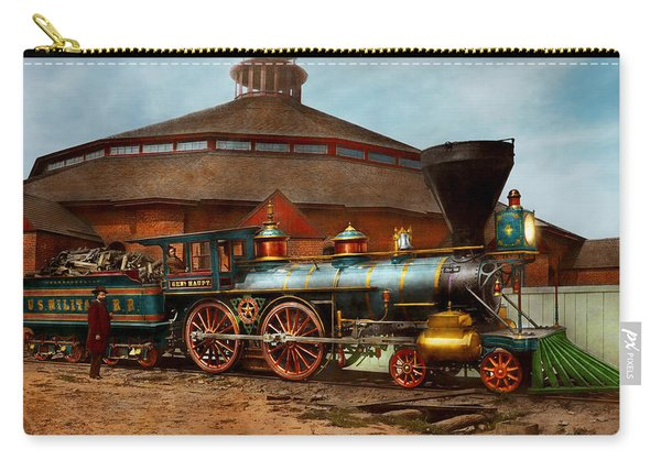 Train - Civil War - General Haupt 1863 Carry-all Pouch