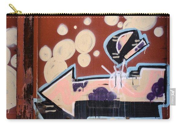Train Graffiti Pale Arrow Carry-all Pouch
