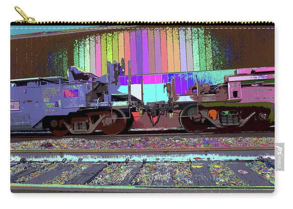 Train Parked Carry-all Pouch
