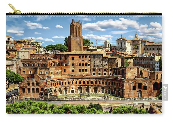 Trajan's Market Carry-all Pouch