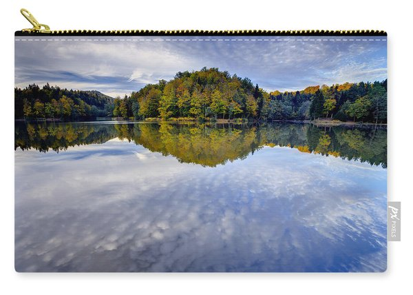 Trakoscan Lake In Autumn Carry-all Pouch