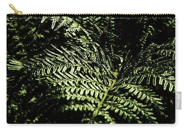 Tranquil Botanical Ferns Carry-all Pouch