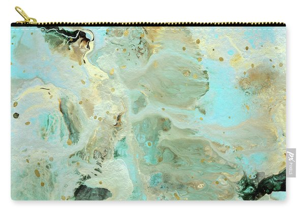 Tranquil Escape- Abstract Art By Linda Woods Carry-all Pouch