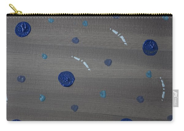 Tranquil Acrylic Abstract Carry-all Pouch
