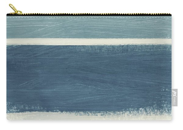 Tranquil Stripes- Art By Linda Woods Carry-all Pouch