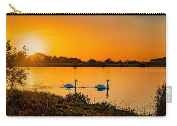 Carry-all Pouch featuring the photograph Tranquility by Nick Bywater