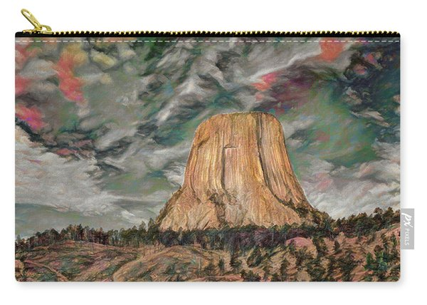 Transcendental Devils Tower Carry-all Pouch