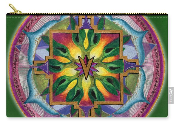 Transformation Mandala Carry-all Pouch