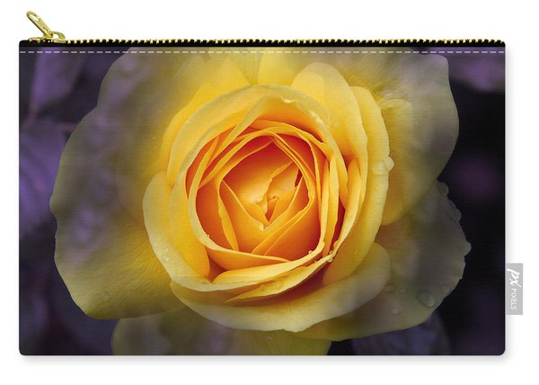 Transitional Rose Carry-all Pouch