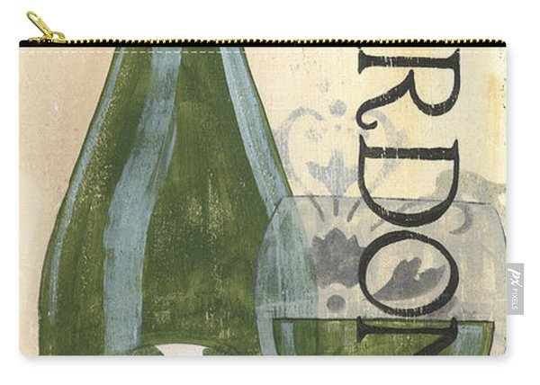 Transitional Wine Chardonnay Carry-all Pouch