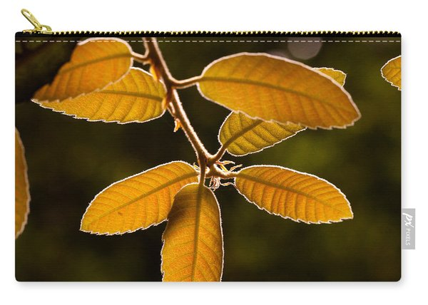 Translucent Leaves Carry-all Pouch