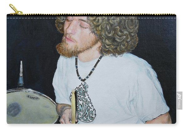 Transported By Music Carry-all Pouch