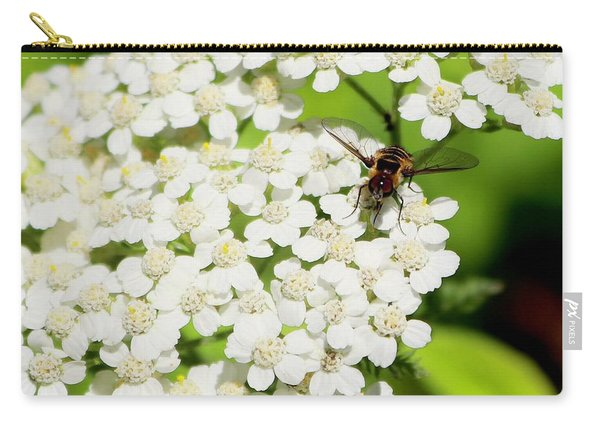 Transverse Flower Fly Carry-all Pouch