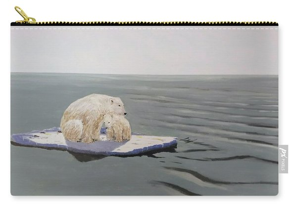 Carry-all Pouch featuring the painting Stranded by Kevin Daly