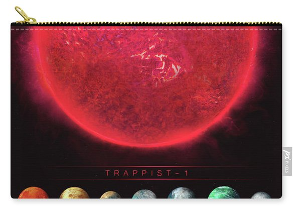 Trappist-1 Carry-all Pouch