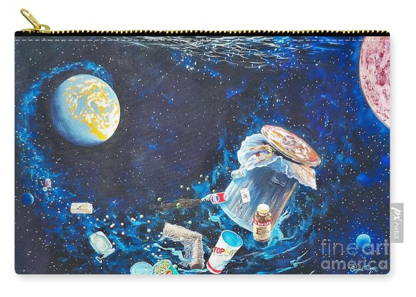 We Loved Earth At One Time - Yes We Did. Carry-all Pouch