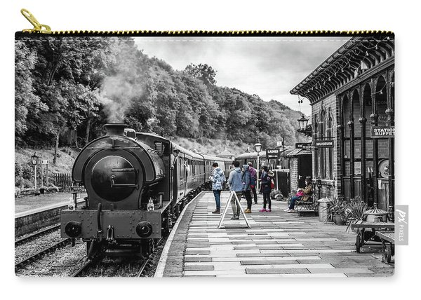 Carry-all Pouch featuring the photograph Travellers In Time by Nick Bywater