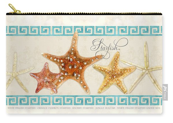 Treasures From The Sea - The Chorus Line Carry-all Pouch