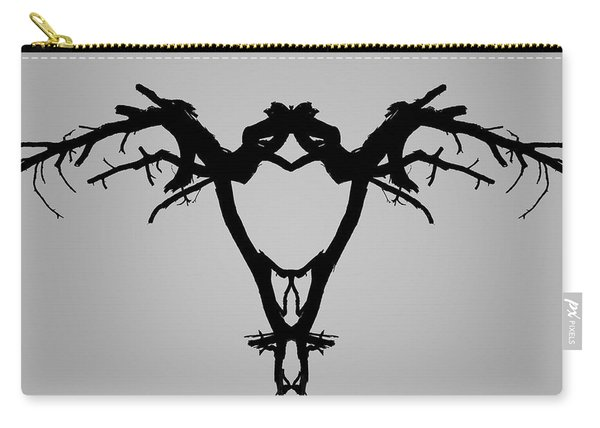 Tree Bird I Bw Carry-all Pouch