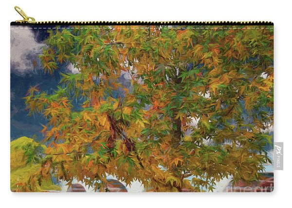 Tree By The Bridge Carry-all Pouch