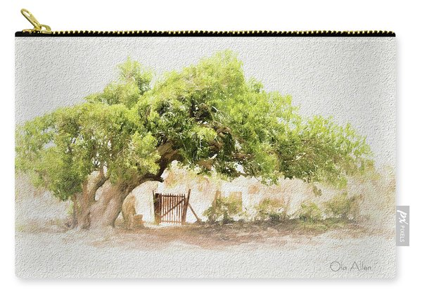 Tree By The Gate Carry-all Pouch