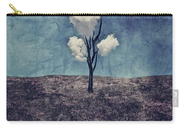 Tree Clouds 01d2 Carry-all Pouch