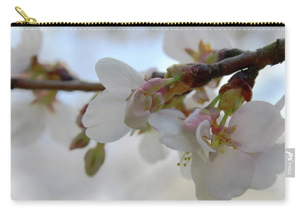 Dogwood Branch Pink Carry-all Pouch