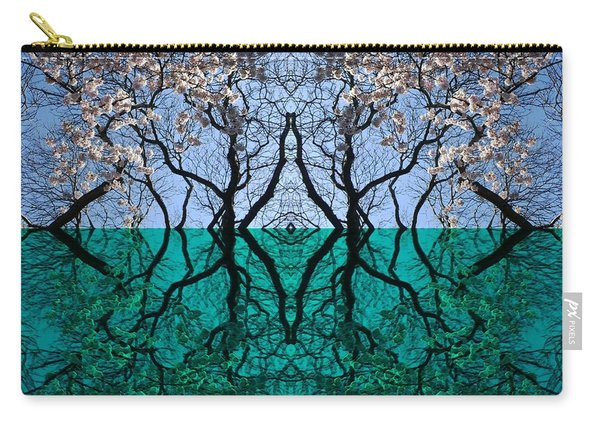 Tree Gate Between Water And Sky Worlds Carry-all Pouch