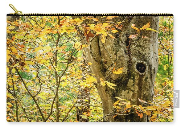 Tree Hollow Carry-all Pouch
