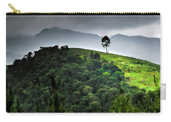 Tree In Kilimanjaro Carry-all Pouch