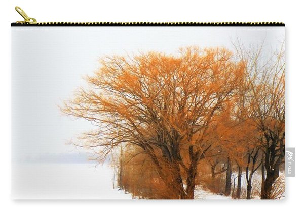Tree In The Winter Carry-all Pouch