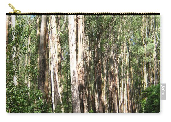 Tree Lined Mountain Road Carry-all Pouch