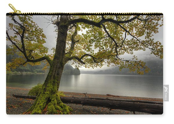 Tree On Cameron Lake Carry-all Pouch