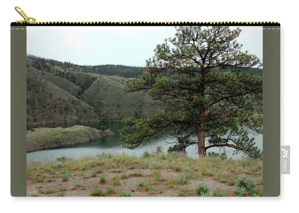 Tree On Missouri River Bluff Carry-all Pouch