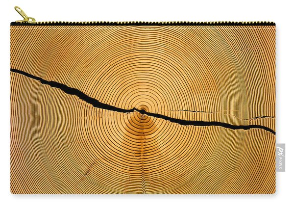 Tree Rings Carry-all Pouch