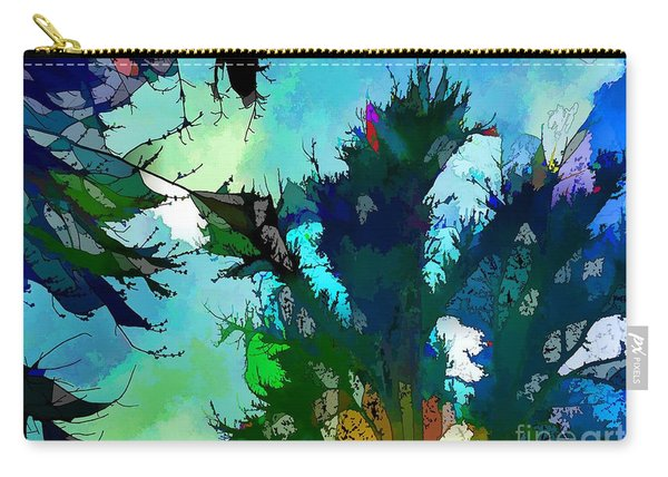 Tree Spirit Abstract Digital Painting Carry-all Pouch