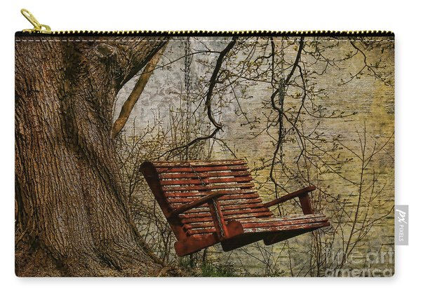 Tree Swing By The Lake Carry-all Pouch