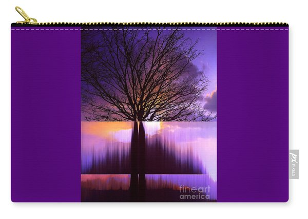 Disturbing The Rule Of Thirds Carry-all Pouch