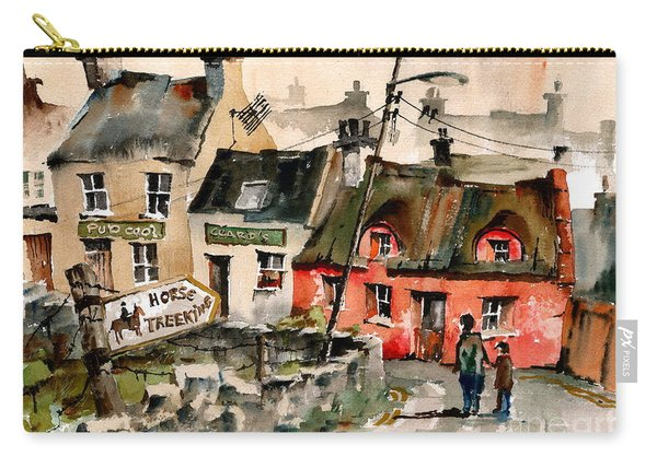 Treekiing In Doolin, Clare Carry-all Pouch