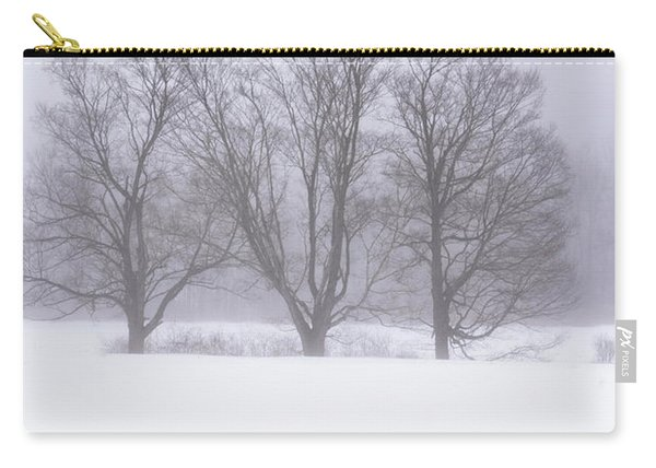Trees In Fog Carry-all Pouch