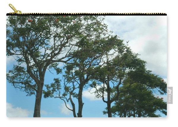 Trees In Kauai Carry-all Pouch