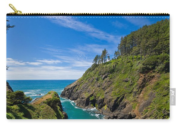 Trees On A Mountain, Heceta Head Carry-all Pouch