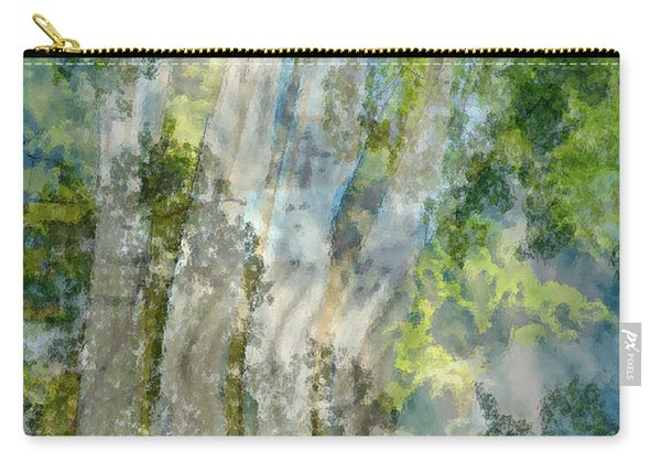 Trees Over Highway Carry-all Pouch