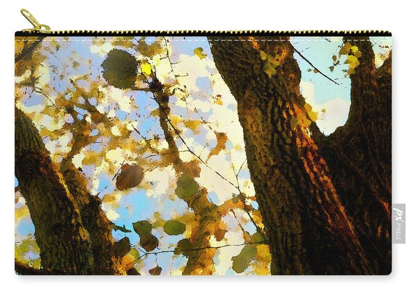 Treetop Abstract-look Up A Tree Carry-all Pouch