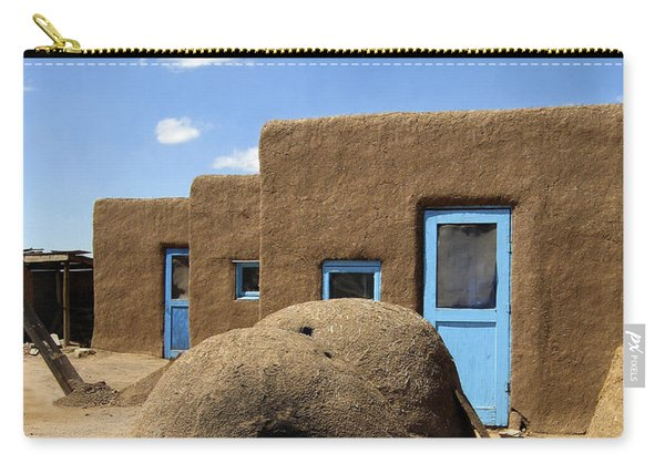Tres Casitas Taos Pueblo Carry-all Pouch